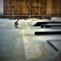 Photo taken at Coleman Playground Skatepark by Jamie F. on 7/15/2012