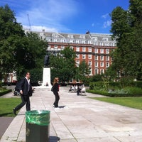 Photo taken at Grosvenor Square by Ansis E. on 8/31/2012