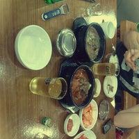 Photo taken at 청진동 해장국 by Aleksandra S. on 7/12/2012