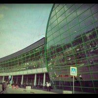 Photo taken at Astana Nursultan Nazarbayev International Airport (TSE) by Paul A. on 5/22/2012