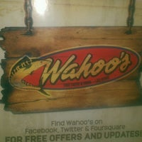 Photo taken at Wahoo's Fish Taco by Jason T. on 3/30/2012
