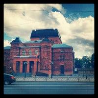 Photo taken at Могилёвский драматический театр by Адам Б. on 8/12/2012