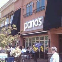 Photo taken at Pano's on Elmwood by Robert P. on 6/21/2012