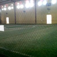 Photo taken at Liiur Futsal & cafe by Radhingga S. on 5/2/2012