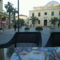 Photo taken at Indigo Cafe by Pavlos E. on 4/19/2012