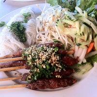 Photo taken at Xe Lua Vietnamese Cuisine 火車頭 by Muay T. on 3/14/2012