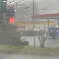 Photo taken at Exxon by Ericka W. on 2/24/2012