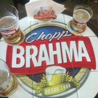 Photo taken at Boteco da Brahma by Danilo C. on 4/5/2012