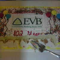 Photo taken at EVB Bank (Windmill) by Mel R. on 5/11/2012