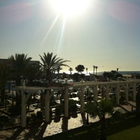 Photo taken at Marco Polo RIU Hotel Hammamet by Nuria A. on 6/13/2012
