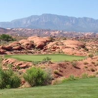 Photo taken at Coral Canyon Golf Course by Vic D. on 5/19/2012