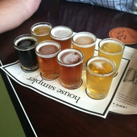 Photo taken at Iron Hill Brewery & Restaurant by Kelly F. on 7/9/2012