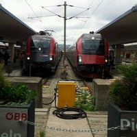 Photo taken at Vienna West Station by Mikhail S. on 6/12/2012