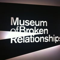 Photo taken at Museum of Broken Relationships by Meryem A. on 3/9/2012
