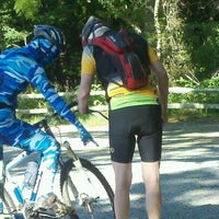 Photo taken at Allaire Moutain Bike Trails by Michelle G. on 6/27/2012