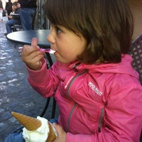 Photo taken at Gelateria Cavour by Massimiliano R. on 3/30/2012