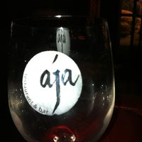 Photo taken at Aja Restaurant & Bar by Meka O. on 6/15/2012