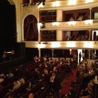 Photo taken at Lesya Ukrainka Theater of Russian Drama by Zhanna on 9/9/2012