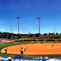 Photo taken at Rhoads Stadium by Lauren L. on 5/10/2012