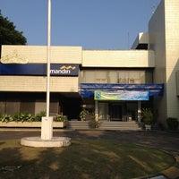 Photo taken at Bank Mandiri by Agung .. on 6/28/2012