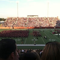 Photo taken at Clyde Abshier Stadium-DPISD by Diana S. on 6/1/2012