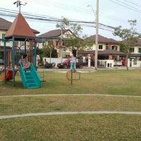 Photo taken at สนามเด็กเล่น สัมมากร-ราชพฤกษ์ by Sunin T. on 3/10/2012