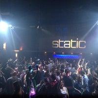 Photo taken at Static Nightclub by Chris F. on 2/29/2012