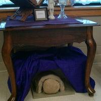 Photo taken at St. Patrick's Catholic Church by Elizabeth W. on 2/26/2012