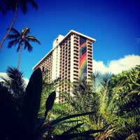 Photo taken at Hilton Hawaiian Village Waikiki Beach Resort by Josh L. on 6/7/2012