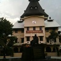 Photo taken at Thammasat University by Nuna T. on 7/16/2012