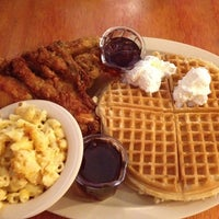 Photo taken at Roscoe's House of Chicken and Waffles by Denise S. on 4/15/2012