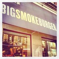 Photo taken at Big Smoke Burger by Jonah H. on 4/13/2012