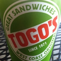 Photo taken at TOGO'S Sandwiches by Bernard on 5/28/2012