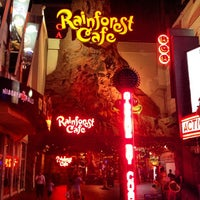 Photo taken at Rainforest Cafe by Ihar T. on 9/2/2012