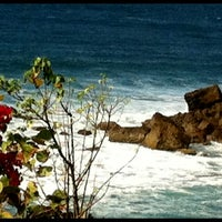 Photo taken at El Faro De Rincon by Stephanie K. on 2/16/2012
