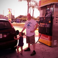 Photo taken at Shell by MicheleBean on 8/9/2012