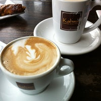 Photo taken at Kahwa Coffee by Stijn V. on 3/10/2012