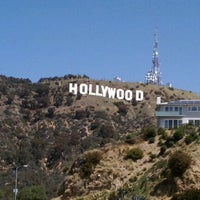 Photo taken at Hollywood Sign Vista Point by Cheryl B. on 4/7/2012