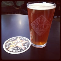 Photo taken at Pike Brewing Company by Elizabeth S. on 8/9/2012