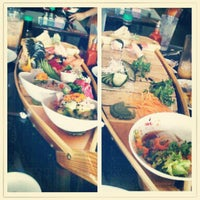 Photo taken at Sake Thai and Sushi by Calvin T. on 5/14/2012