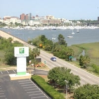 Photo taken at Holiday Inn Charleston-Riverview by Spencer A. on 5/24/2012