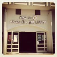 Photo taken at FMV Ayazağa Işık Lisesi by Aykut A. on 7/24/2012