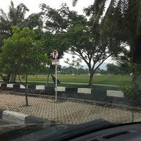 Photo taken at Lapangan Blang Padang by Tina B. on 3/8/2012