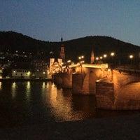 Photo taken at Alte Brücke by Maksim ✈ S. on 7/26/2012