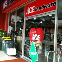 Photo taken at ACE Hardware by Kiky M. on 2/23/2012