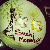 Photo taken at Sushi Monster by Bucky S. on 7/14/2012