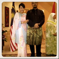 Photo taken at Malaysia Ambassador's Residence by Ross G. E. on 9/7/2012