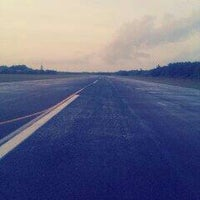 Photo taken at Hanimaadhoo Airport Runway by Mohamed J. on 6/19/2012