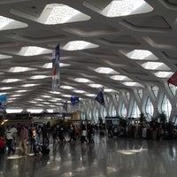 Photo taken at Marrakech Menara Airport (RAK) by Ambra N. on 4/22/2012