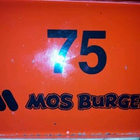 Photo taken at MOS Burger by ChyRene C. on 3/16/2012